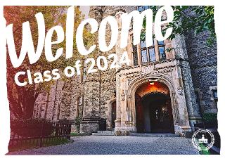 University Postcard Template