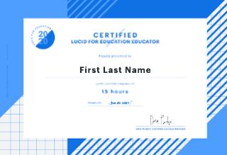 L4E Certified Educator Certificate