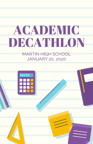 Academic Education Poster Template