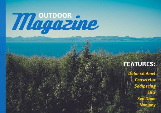 free online magazine template