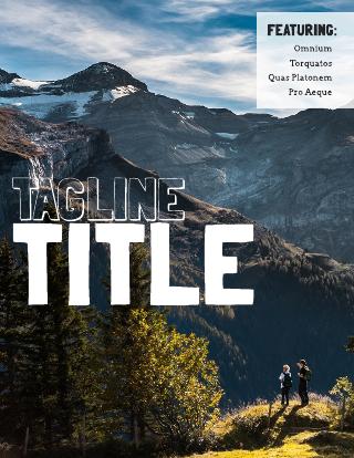 Adventure Magazine Template