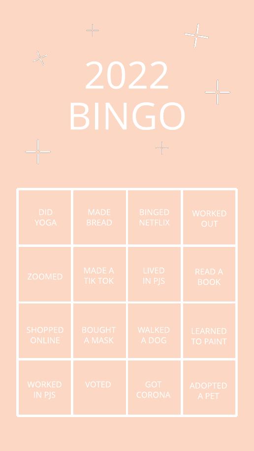 2020 Bingo Instagram Story Template