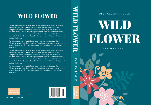 Wildflower Book Cover Template