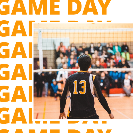Volleyball Game Day Facebook Post Template