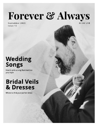 Forever & Always Bridal Magazine Template