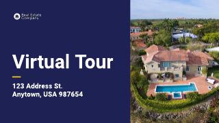 Virtual home tour for real estate