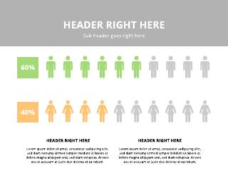Men Vs. Women Comparison Chart