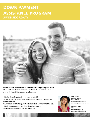 Home Buyers Real Estate Flyer Template