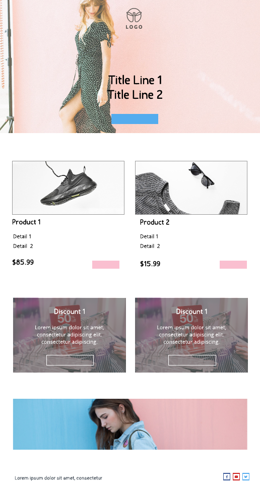 Product Email Template