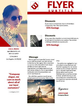 Standard Business Advertising Flyer Template