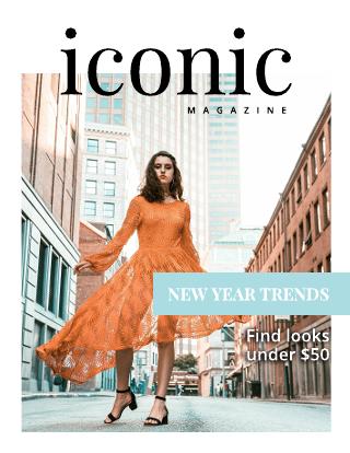 Iconic Fashion Magazine Cover Template