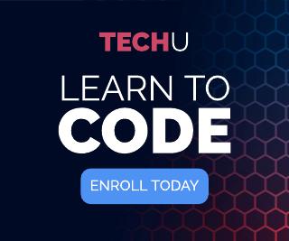 Hexagon Gradient Coding Banner Ad Template