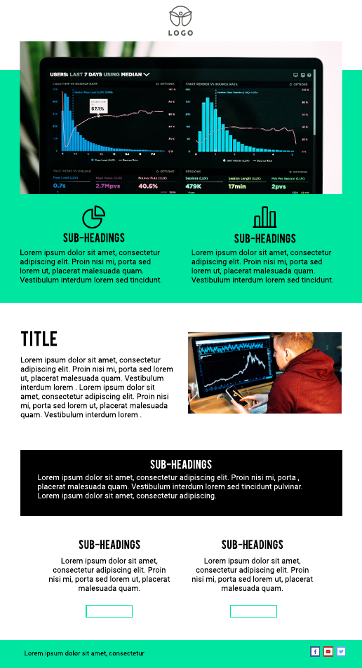 Data Email Newsletter Template
