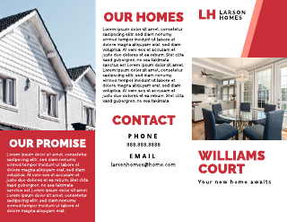 Real Estate Homes for Sale Brochure Template