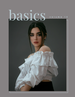 Simple Magazine Cover Template