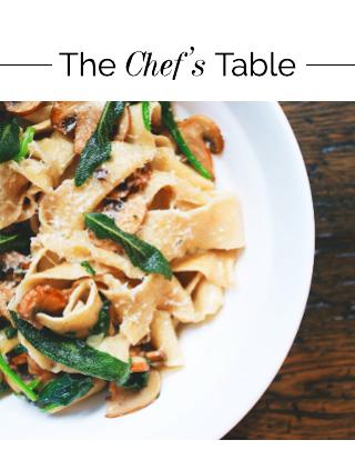 Chef's Table Minimal Food Magazine Template