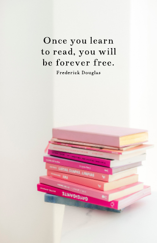 Reading Quote Poster Template