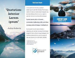Big Sky Advertising & Marketing Tri-Fold Brochure Template