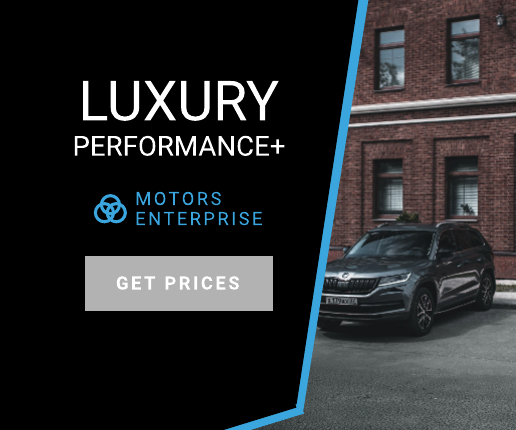Black and Blue Car Banner Ad Template