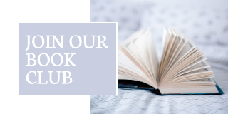 Pastel book club Twitter post template