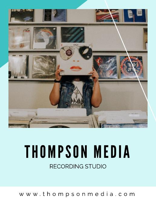 Recording Studio Media Kit Template