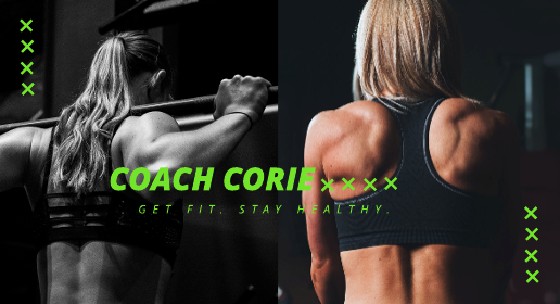 Bright Green Fitness Youtube Banner Template