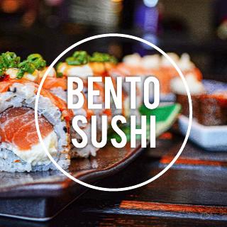Large Photo Sushi Restaurant Facebook Post Template