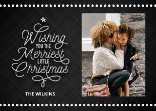 Merriest Little Christmas Card (7x5)