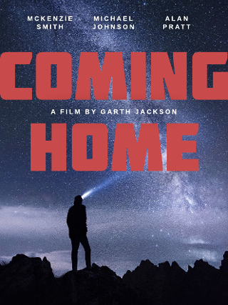 Coming home movie poster template