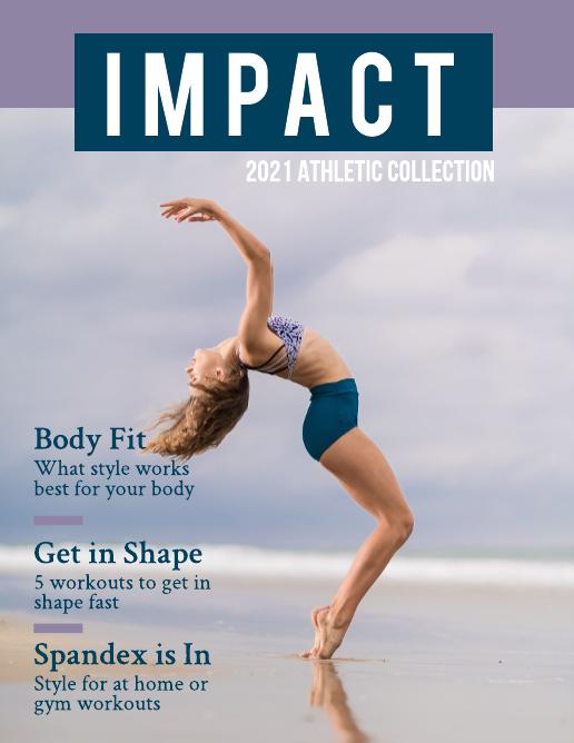 Athletic Fashion Magazine Template