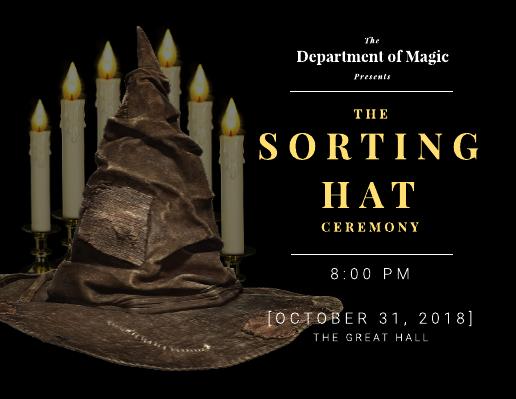 Harry Potter Party Invitation