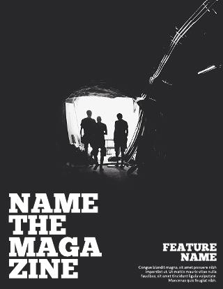 Introspective Magazine Template