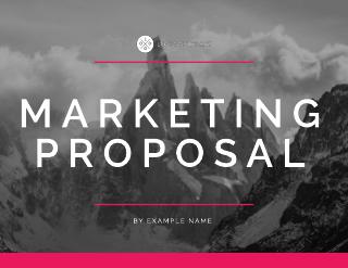 Summit Corporate Marketing Presentation Proposal