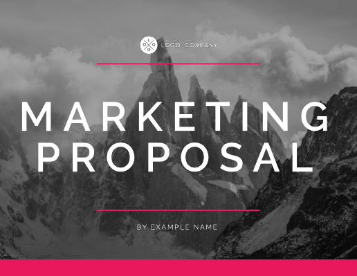 Summit Corporate Marketing Presentation Proposal
