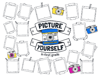 Picture Yourself Bulletin Board