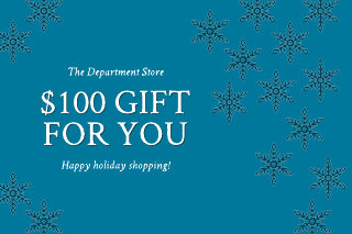 Snowflake gift certificate template