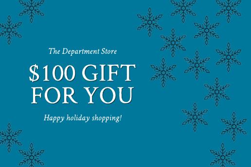 Snowflake Gift Certificate