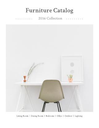 contemporary catalog template