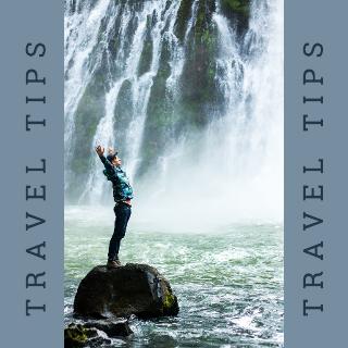 Grey Blue Travel Facebook Post Template