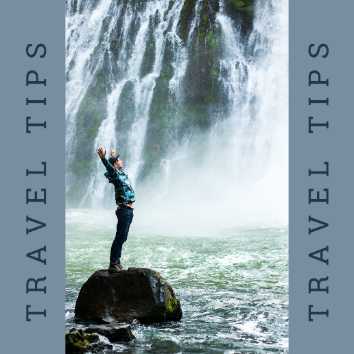Grey Blue Travel Facebook Post Template