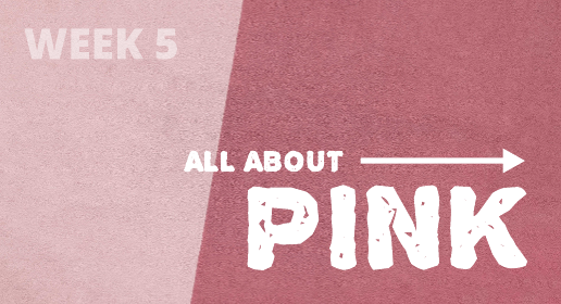 All About Pink Youtube Banner Template