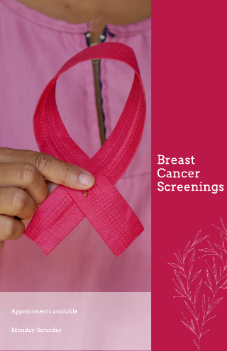 Breast Cancer Medical Poster Template