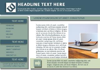 Corporate Digital Newsletter Template