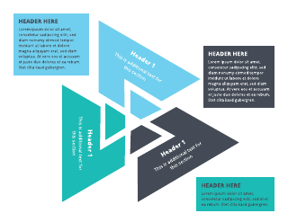 3-Triangle Venn Diagram Template
