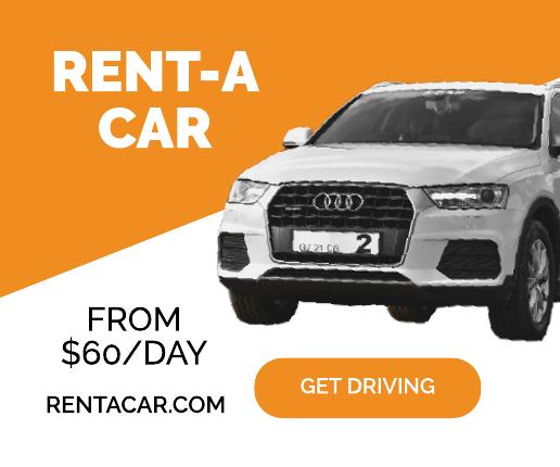 Car Rental Banner Ad Template