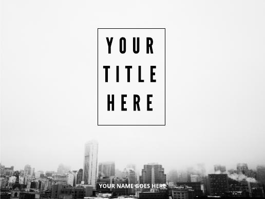 Top Floor Simple Presentation Template 01
