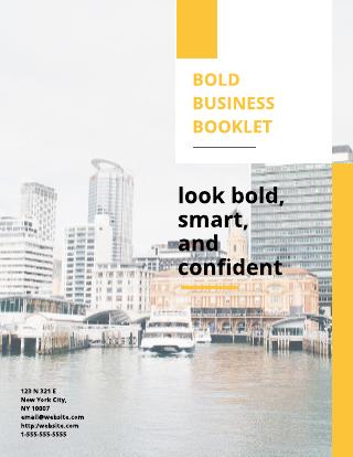 Bright Business eBook Template