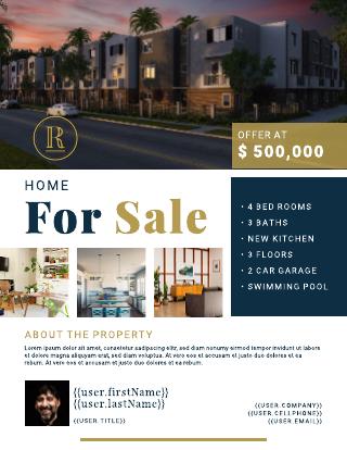 Smart Real Estate Flyer Template