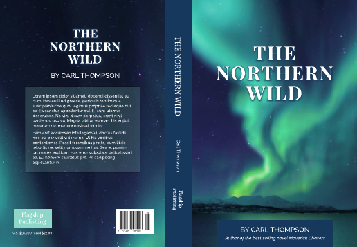 The Northern Wild Book Cover Template