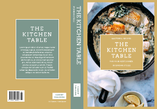 The Kitchen Table Book Cover Template